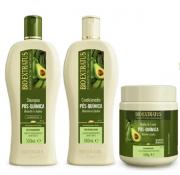 Bio Extratus Pos-Quimica Shampoo+Condicionador+Banho de Creme 500ml