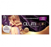 Folhas de Alumínio Para Mechas Alumi Hair 320 Unidades C/10 Caixas