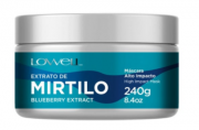 Lowell Extrato de Mirtilo - Máscara 240g