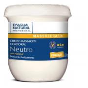 Creme De Massagem Corporal Neutro Dagua Natural 650g