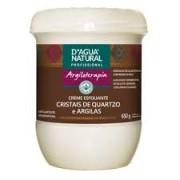 Creme Esfoliante Cristais de Quartzo e Argilas Dagua Natural 650g