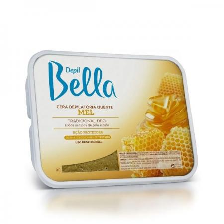 Depil Bella Cera Depilatória Quente Mel 1Kg