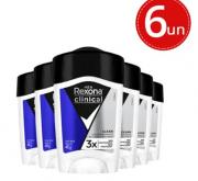 Desodorante Clinical Rexona em creme 48g 6 unidades