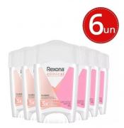 Desodorante Rexona Clinical Creme Classic Feminino 48g- 6 Unidades