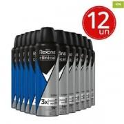 Rexona Clinical Desodorante Aerosol Clean Men Azul 150ml C/12