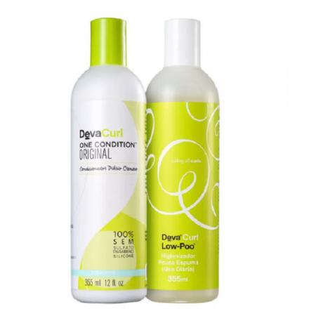 Deva Curl Shampoo Low-Poo+Condicionador One Condition 355ml