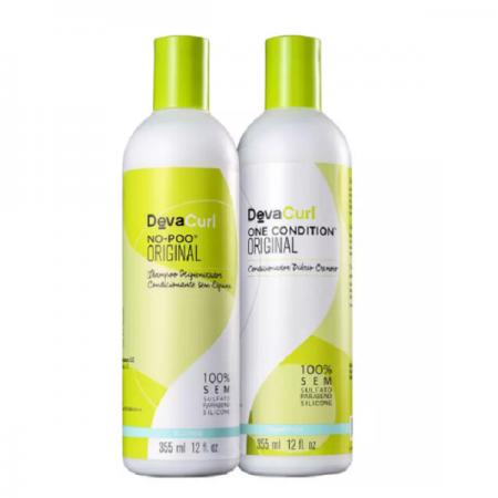 Deva Curl Shampoo No-Poo+Condicionador One Condition 355ml