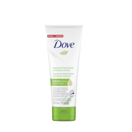 Dove Espuma de Limpeza Facial Purificação Profunda 100g