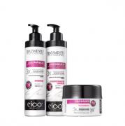 Eico Liso Mágico Shampoo+Condicionador 280ml+Mascara 240g