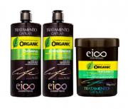 Eico Organic Trio (Shampoo+Cond 1L+Mascara 1K)