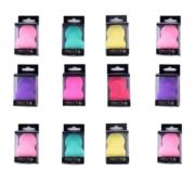 Esponja Para Maquiagem Chanfrada (pêra) Meily's Mac-202 com 12 unidades