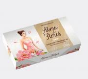 Estojo Alma de Flores Flores Brancas com 3 Sabonetes - 390g