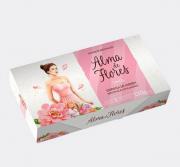 Estojo Alma de Flores Jasmim com 3 Sabonetes - 390g