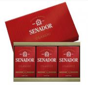 Estojo Senador Classic com 3 Sabonetes - 390g