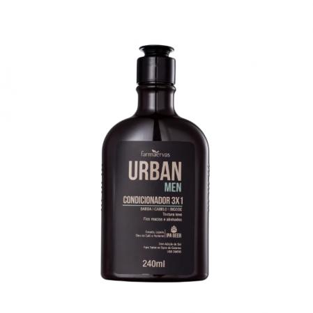 Farmaervas Urban Men 3x1 - Condicionador 240ml