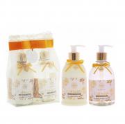 Flora Vie Calendula Espuma de Banho+Emulsão Hidratante 380ml - Kit BA25