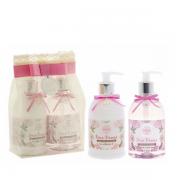 Flora Vie Doce Desejo Kit BA25 Espuma de Banho+Emulsão Hidratante 380ml