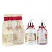 Flora Vie Jardim Secreto Kit BA25 Espuma de Banho+Emulsão Hidratante 380ml