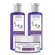 Flores & Vegetais Blond Matizador Shampoo+Condicionador 300ml+Máscara 250g