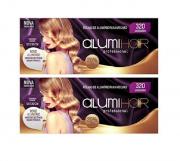 Folhas de Alumínio Para Mechas Alumi Hair 320 Unidades C/2 Caixas