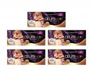Folhas de Alumínio Para Mechas Alumi Hair 320 Unidades C/5 Caixas
