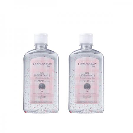 Giovanna Baby Classic - Álcool em Gel 500ml - 2 Unidades