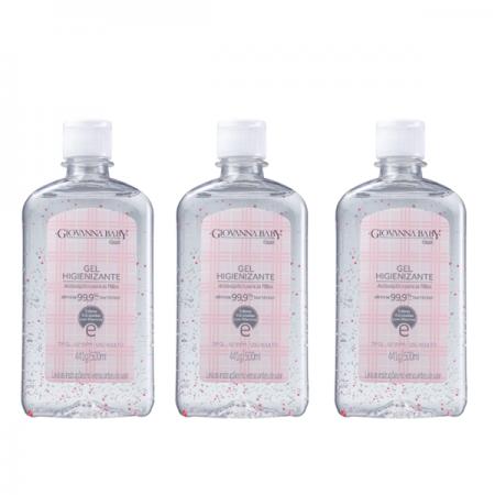 Giovanna Baby Classic - Álcool em Gel 500ml - 3 Unidades