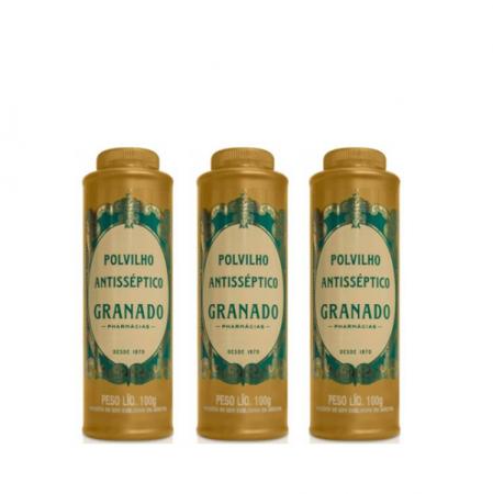 Granado Polvilho Antisséptico 100g 3 Unidades