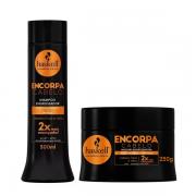 Haskell Encorpa Cabelo Engrossador Shampoo 300ml+Mascara 250g