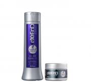 Haskell Extend Color Roxo Shampoo 300ml+Mascara Matizador Color Ultra Violet 90g