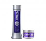 Haskell Extend Color Roxo Shampoo 300ml+Mascara Matizador Color Roxo 90g
