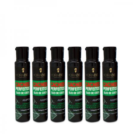 Hidrabell Ampola Cachos Perfeitos 40 ml 6 Unidades