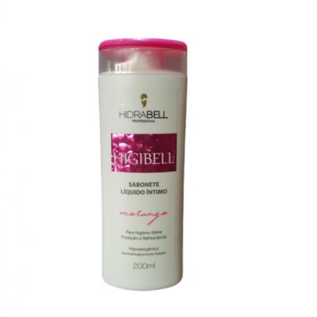 Hidrabell Higibell Sabonete Intimo Morango - 200ml