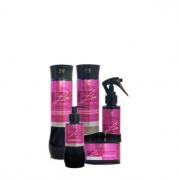 Hidrabell Liss - Shampoo 350ml+Condicionador 330g+Leave-in 200g+Mascara 250g+Spray 120ml