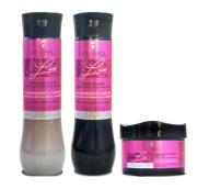 Hidrabell Liss - Shampoo 350ml+Condicionador 330g+Mascara 250g