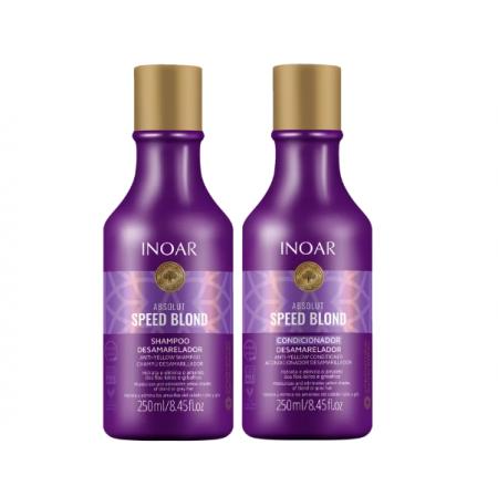 Inoar Absolut Speed Blond Shampoo+Condicionador 250ml