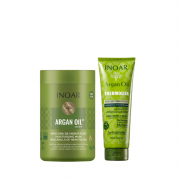 Inoar Argan Oil System - Máscara 1Kg+Thermoliss Balssamo Anti-Frizz 240ml