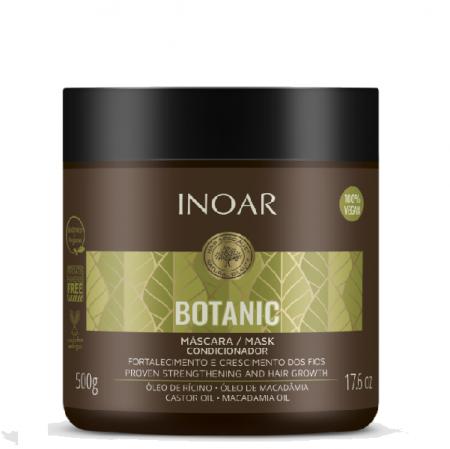 Inoar Botanic Oleo de Ricino Mascara 500g