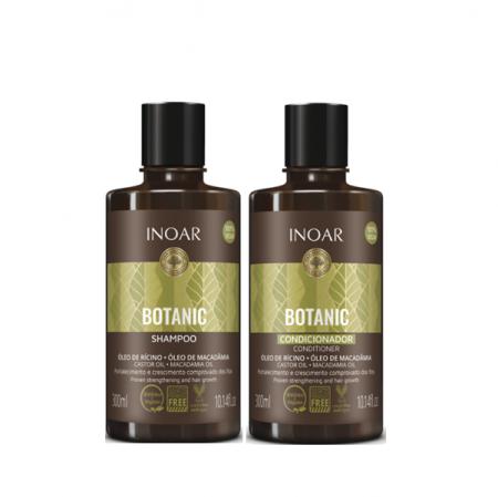 Inoar Botanic Oleo de Ricino Shampoo+Condicionador 300ml