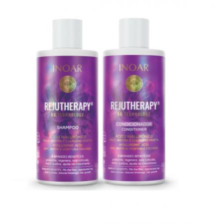 Inoar Rejutherapy Shampoo+Condicionador 400ml
