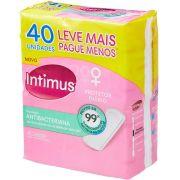 Intimus Protetor Diário Days Antibacteriana, 40 Unidades