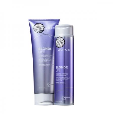 Joico Blonde Life Violet - Shampoo Matizador 300ml+Condicionador 250ml