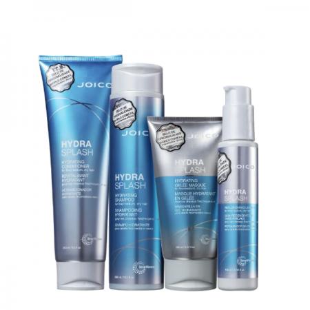 Joico Hydra Splash Smart Release - Shampoo 300ml+Condicionador 250ml+Mascara 150ml+Leave-in 100ml