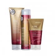 Joico K-PAK Color - Shampoo 300ml+Condicionador 250ml+Mascara 140ml