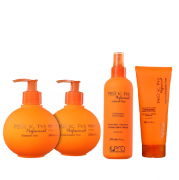 K Pro Petit Teen Shampoo+Condicionador 240ml+Leave-in 200ml+Ativador de Cachos 200g