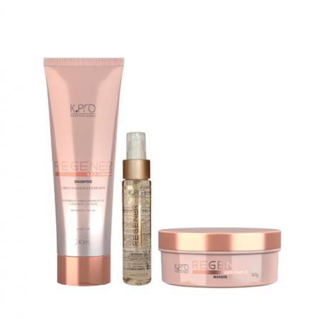 K Pro Regenér - Shampoo 240ml+Mascara 165g+Lipidium Oil 60ml