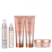K Pro Regener Shampoo+Condicionador 240ml+Mascara 165g+Balm Leave-in 120g+Lipidium Oil 60ml