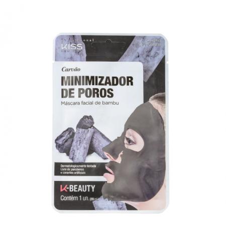 Kiss New York Carvão Minimizador de Poros - Máscara Facial 20ml