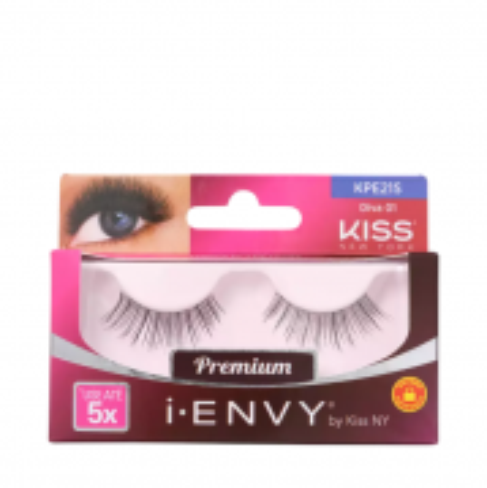 Kiss New York i-Envy Diva 01 - Cílios Postiços