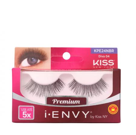 Kiss New York i-Envy Diva 04 - Cílios Postiços